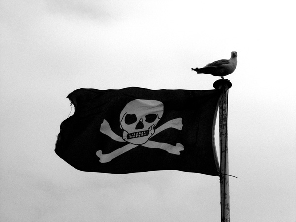 Jolly Roger e o design contemporâneo.